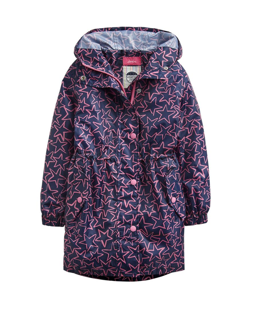 Image for Joules Girls Golightly Waterproof Packable Fashion Jacket