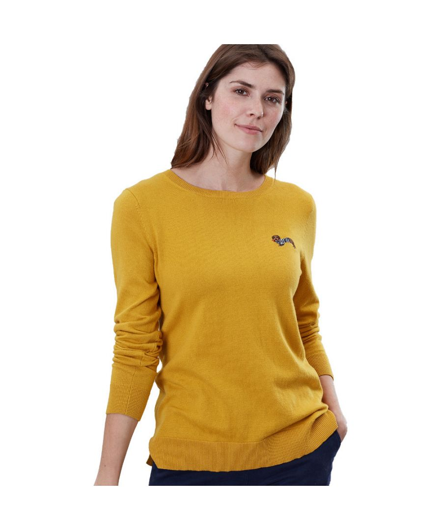 Image for Joules Womens Tina Soft Stylish Embroidered Sweater Jumper