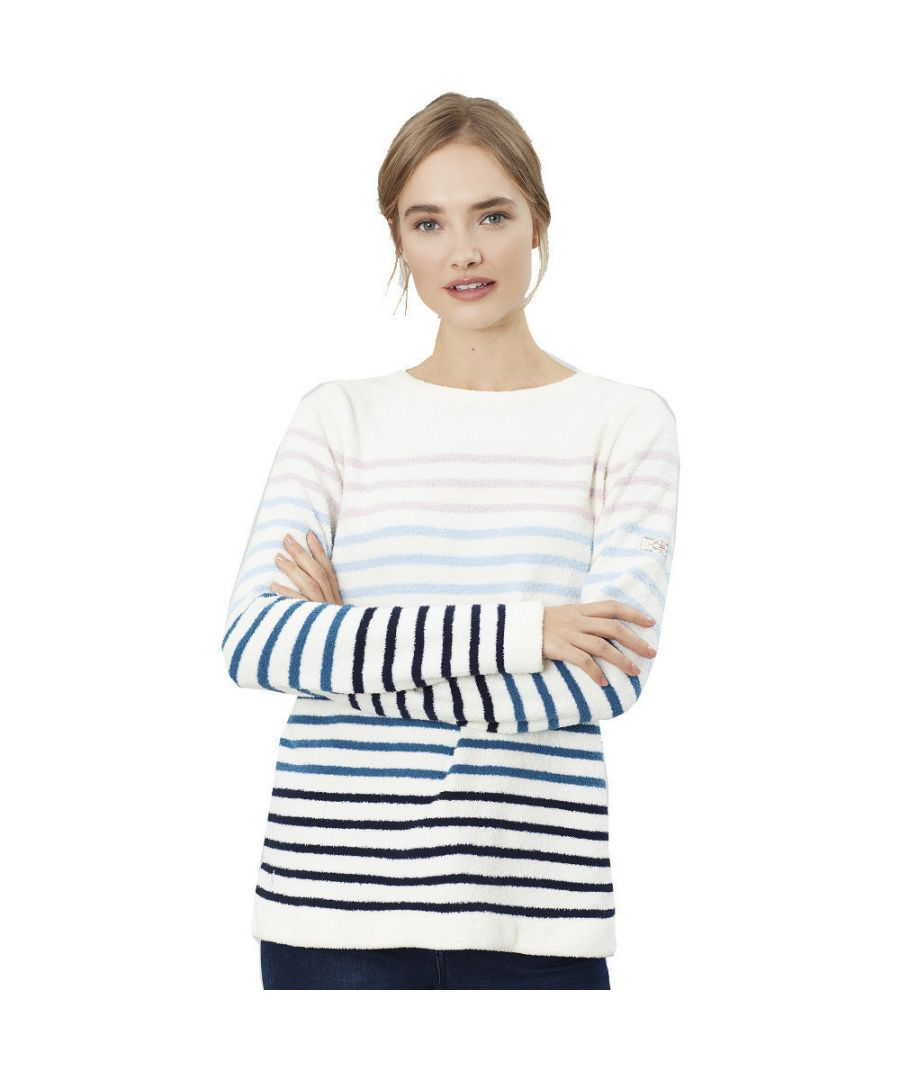 Image for Joules Womens Seaham Harbour Relaxed Fit Long Sleeve Top