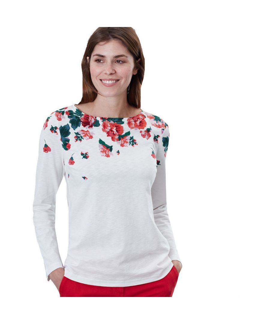 Image for Joules Womens Harbour Lightweight Cotton Long Sleeve Top