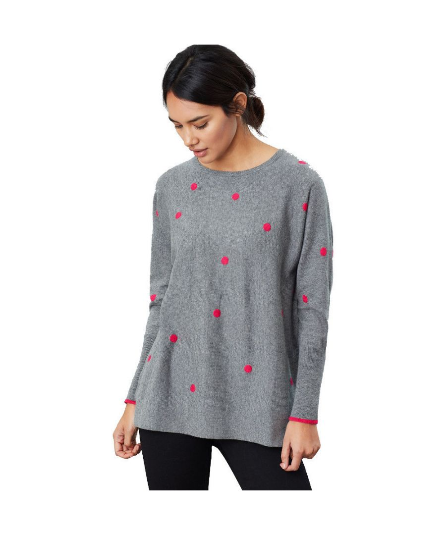Image for Joules Womens Kellie Round Neck Long Sleeve Casual Jumper