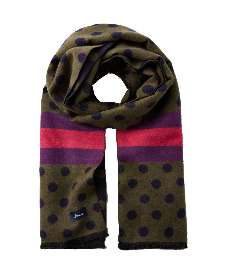 Image for Joules Womens Jacquelyn Multiwear Reversible Fashion Scarf