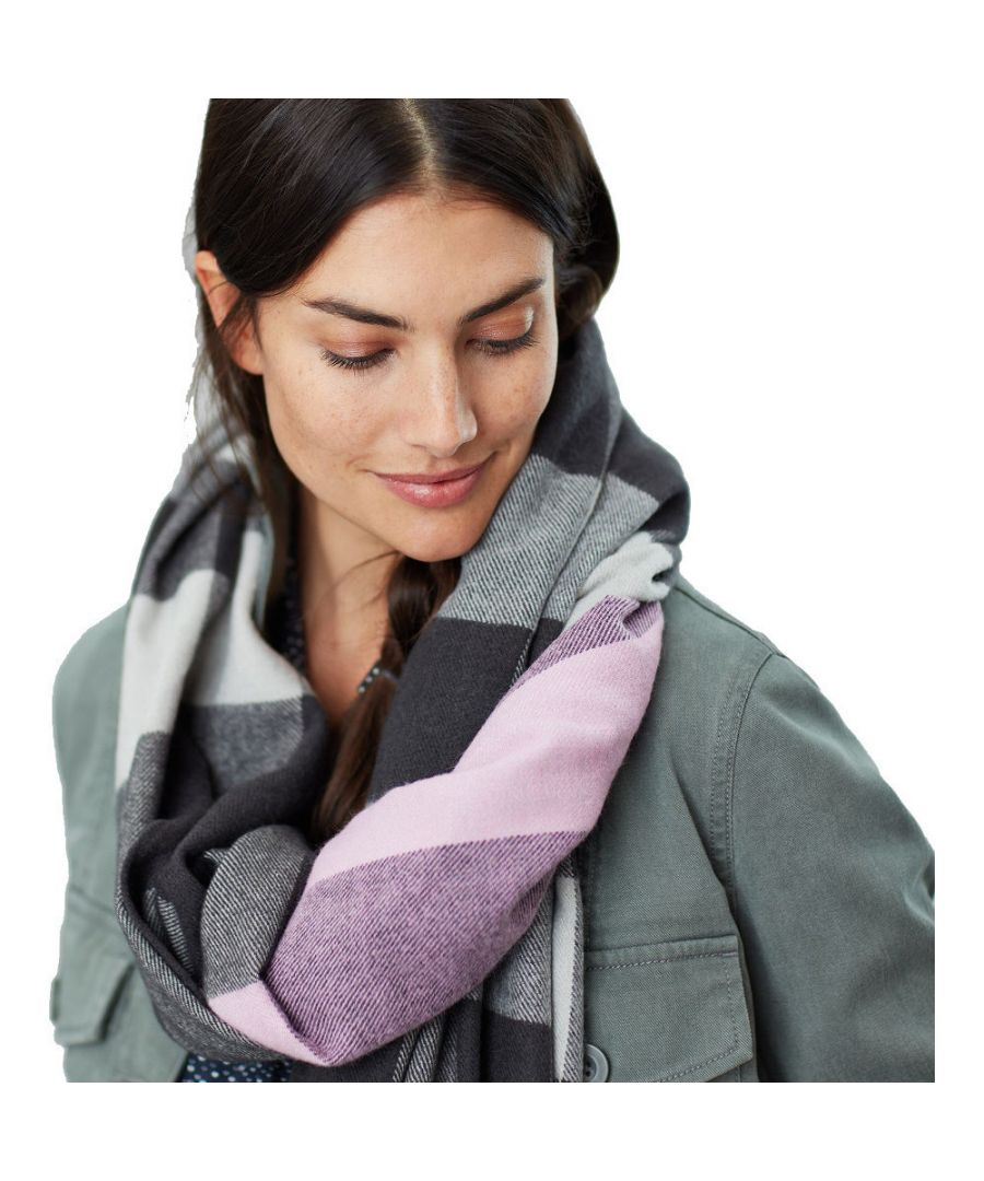 Image for Joules Womens Berkley WarmSuper Soft Fashion Scarf