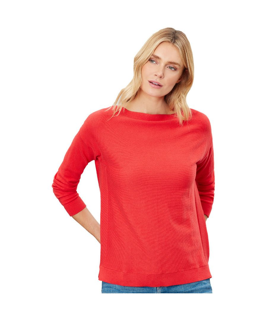 Image for Joules Womens Bess Drop Shoulder Classic Fit Sweater Jumper