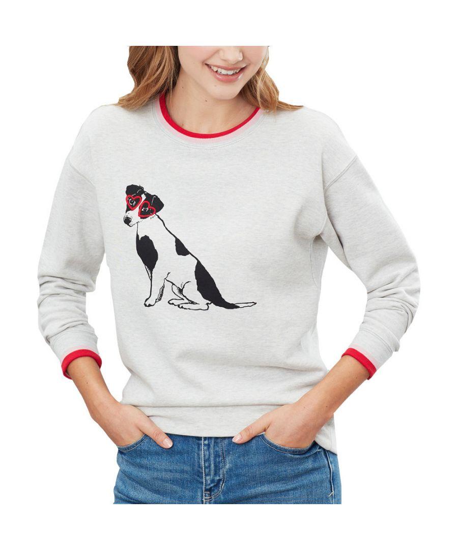 Image for Joules Womens Presley Slim Flattering Fit Sweatshirt