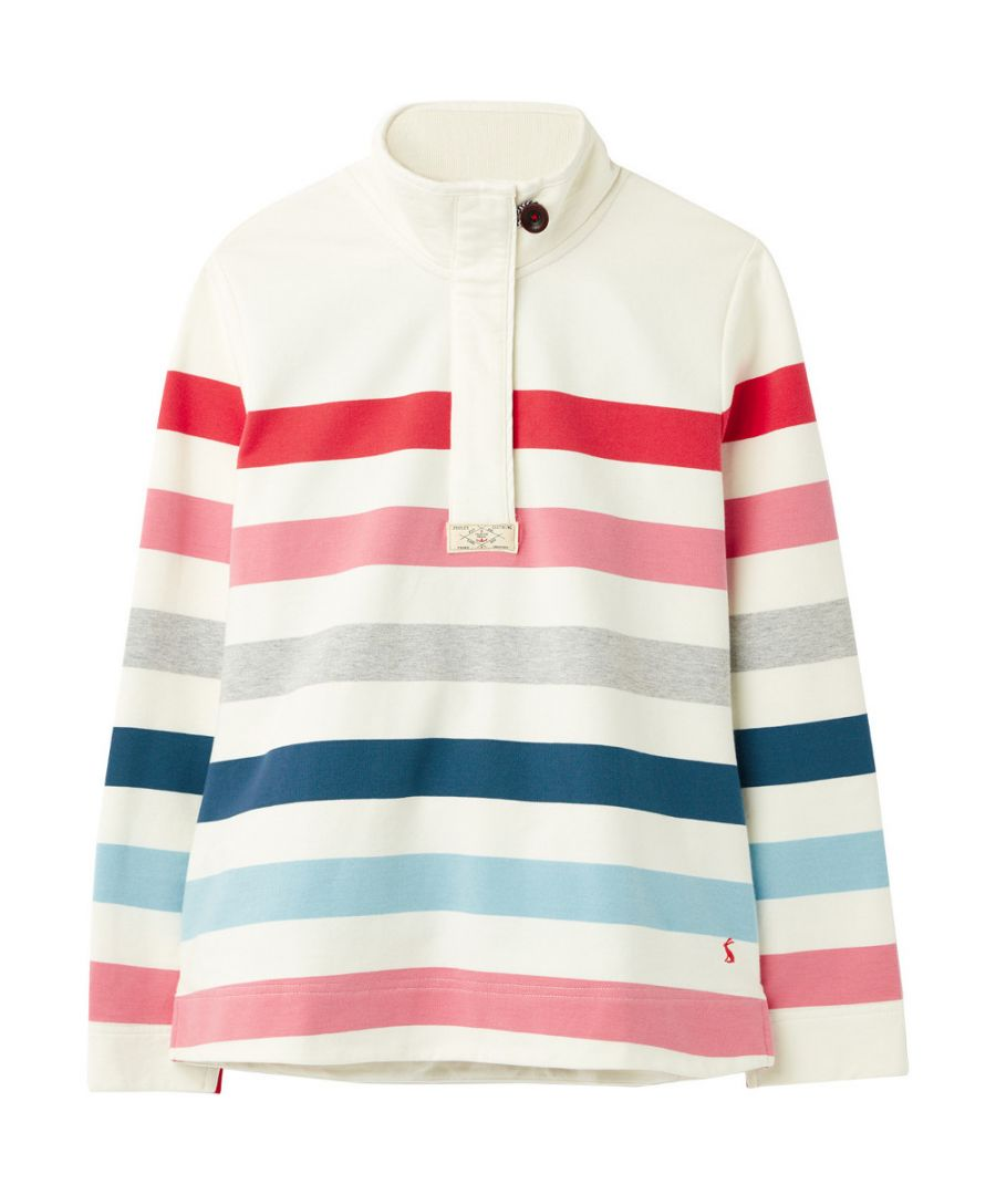 Image for Joules Womens Saunton Classic Long Sleeve Jumper Sweatshirt
