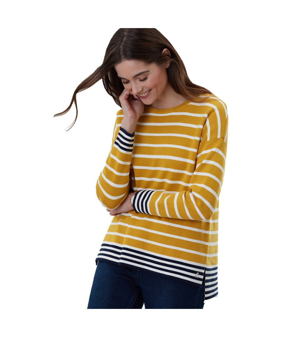 Image for Joules Womens Uma Boat Neck Drop Sleeve Wool Blend Jumper
