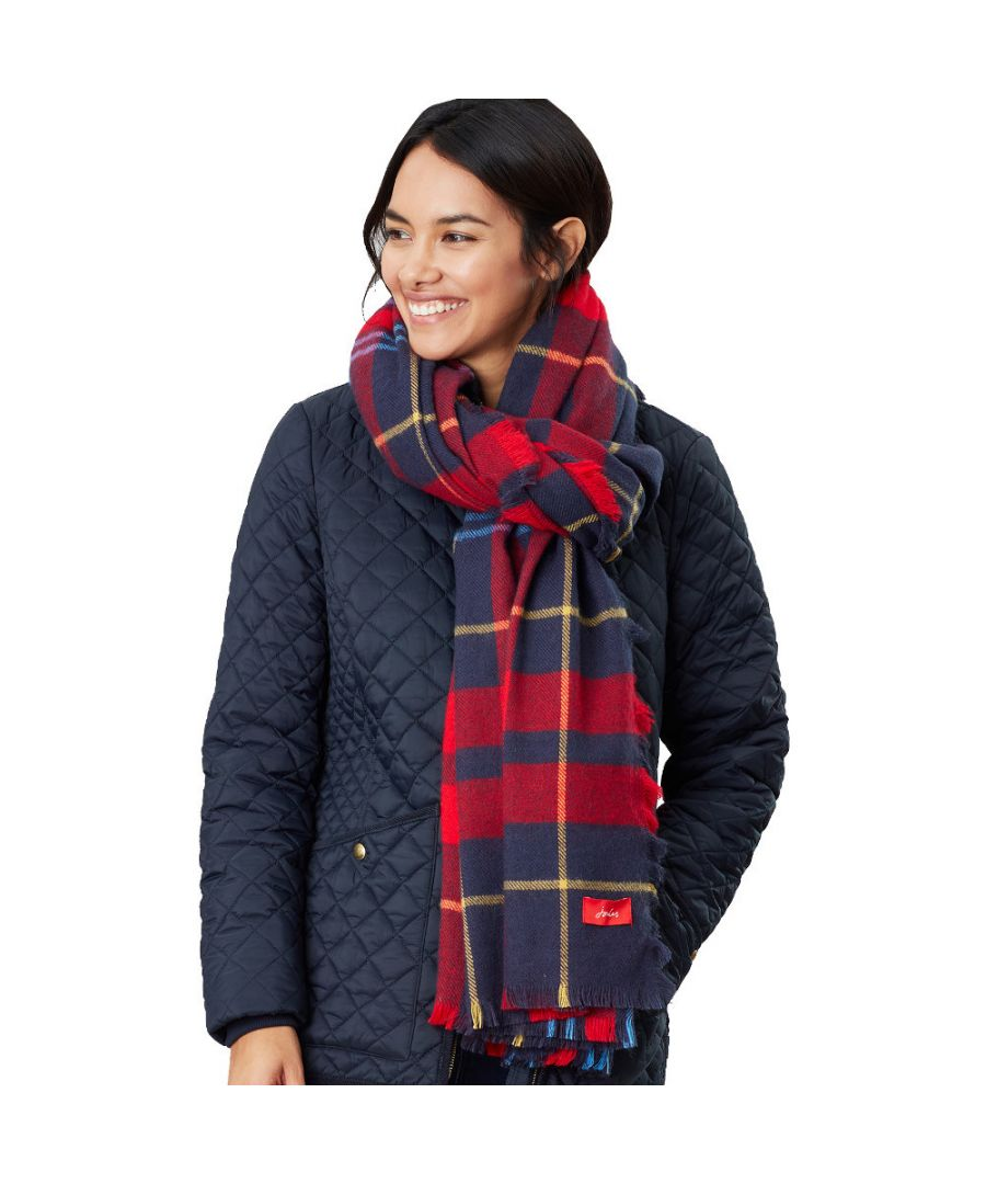Image for Joules Womens Heyford Oversized Ultra Soft Square Scarf