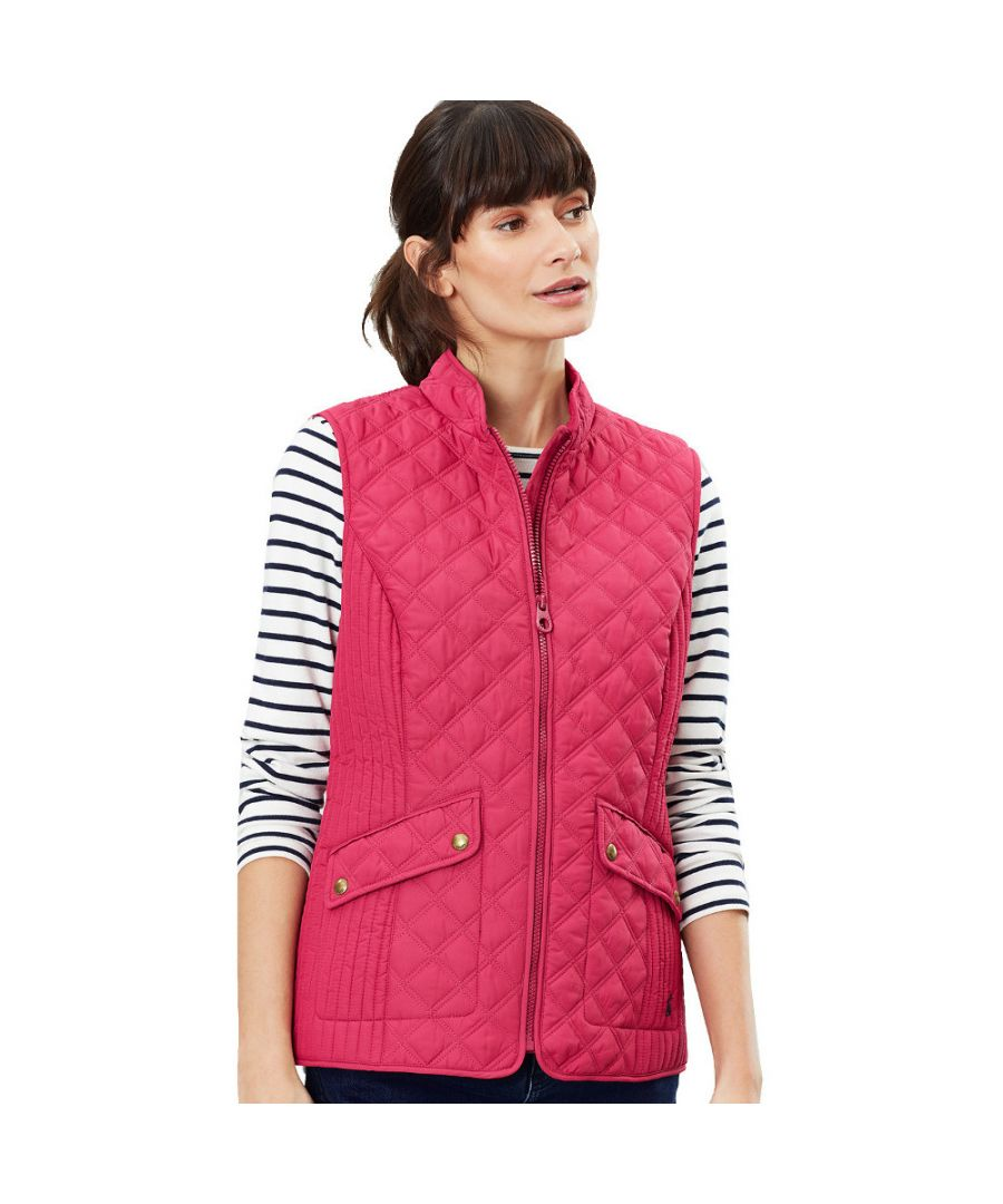 Image for Joules Womens Minx Quilted Lightweight Body Warmer Gilet