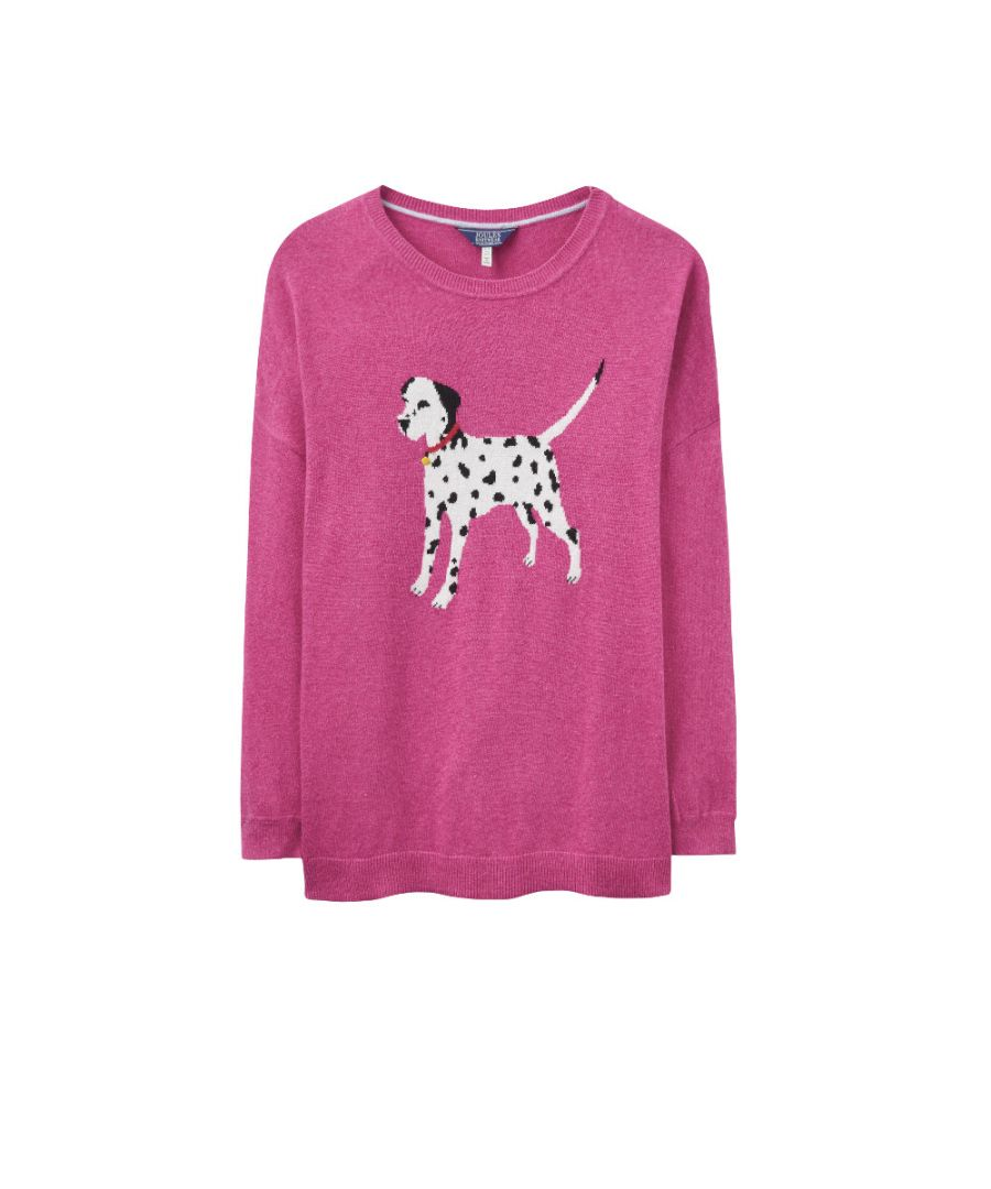 Image for Joules Womens/Ladies Meryl Soft Wool Blend Intarsia Knit Jumper