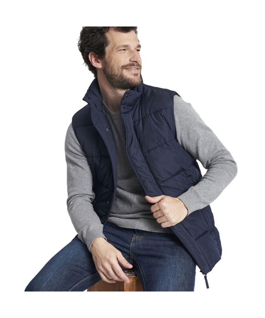 Image for Joules Mens Bramgilet Jersey Lined Warm Padded Gilet Bodywarmer