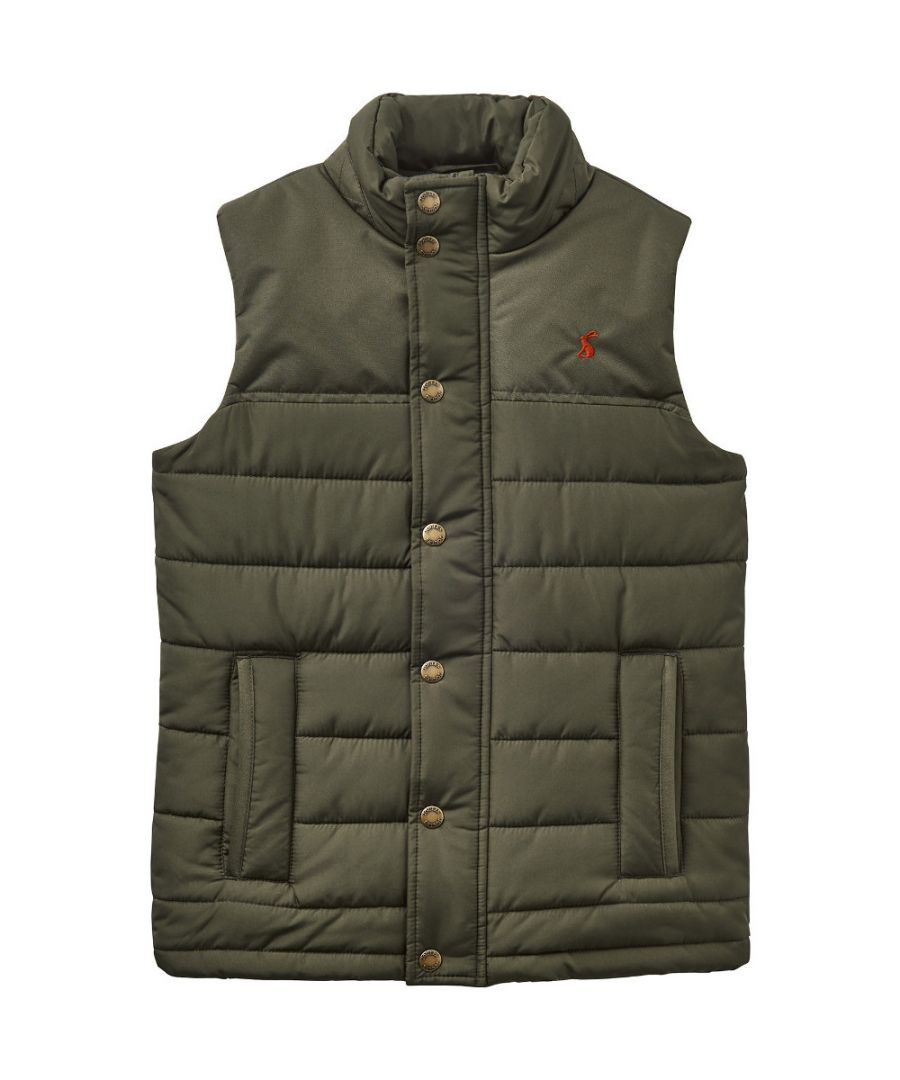 Image for Joules Boys Matchday Warm Polar Fleece Lined Gilet Bodywarmer