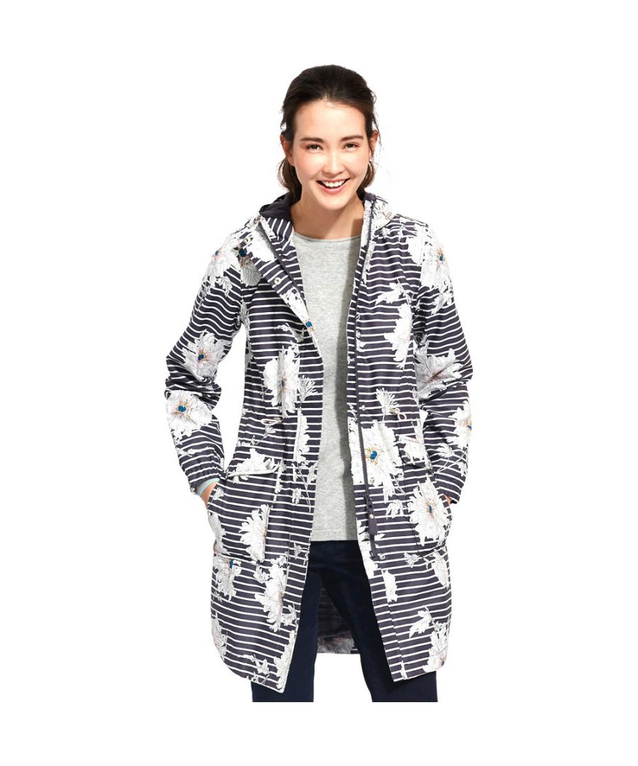 Image for Joules Womens/Ladies Raina Waterproof Polycotton Parka Jacket Coat