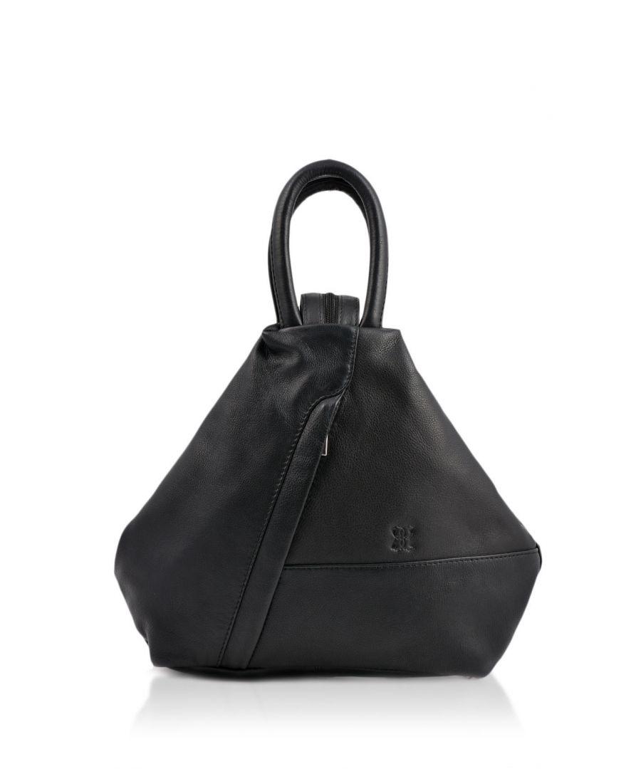 Image for Juliet Leather Backpack in Black