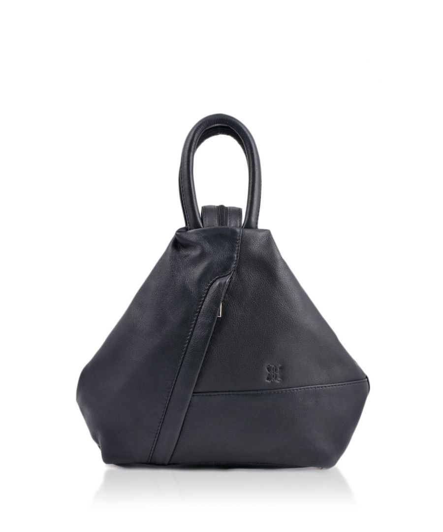 Image for Juliet Leather Backpack in Navy