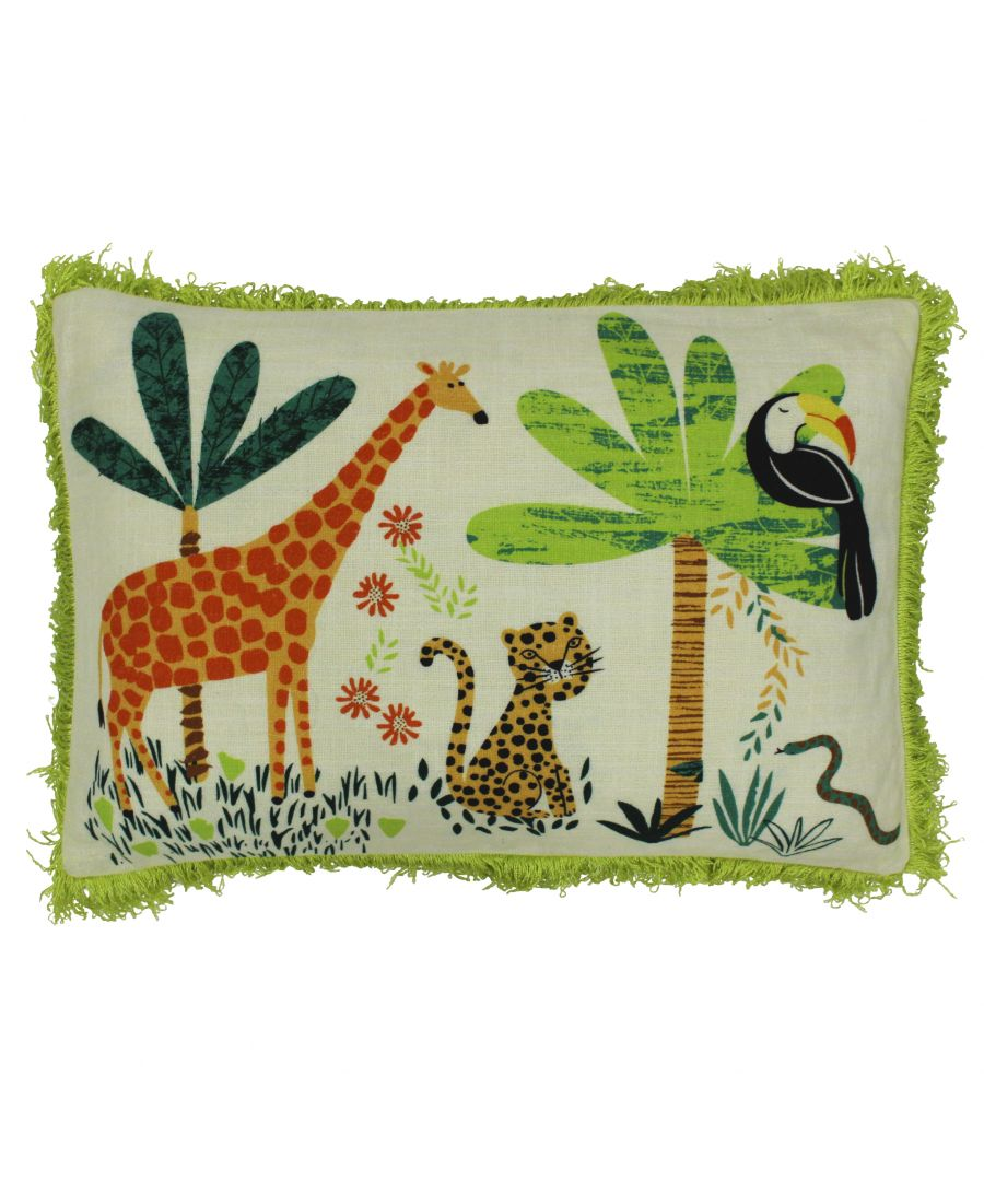 Image for Jungletastic 35X50 PCushion Multi