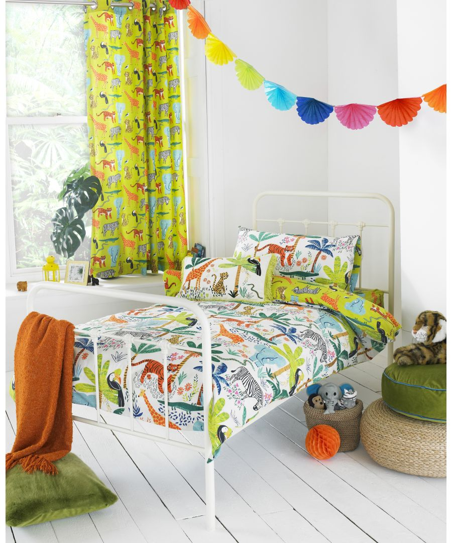 Image for Jungletastic Duvet Set Multi