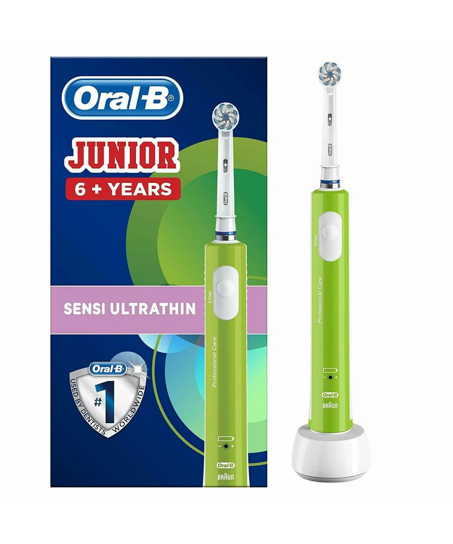 Image for Oral-B Junior Kids Electric Toothbrush Rechargeable for Children Aged 6+