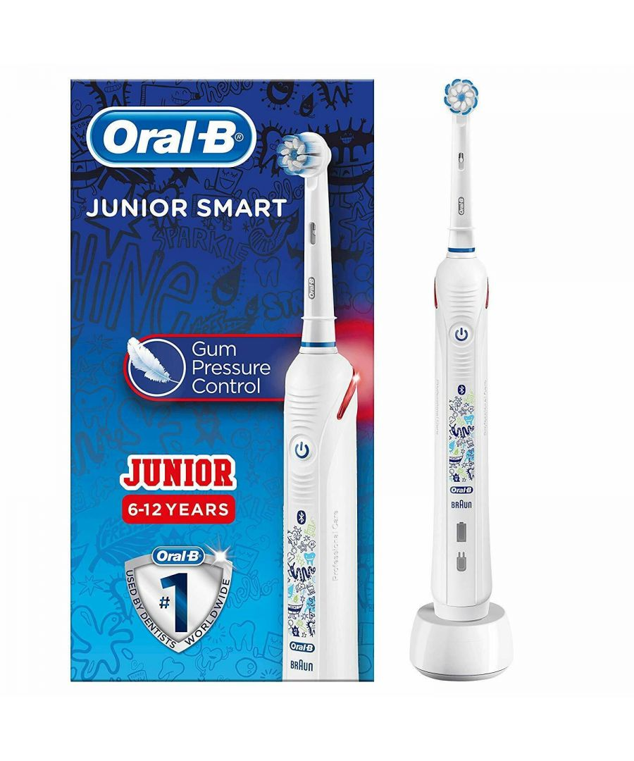 Image for Oral-B Junior Smart Electric Rechargeable Toothbrush Bluetooth For Ages 6 - 12
