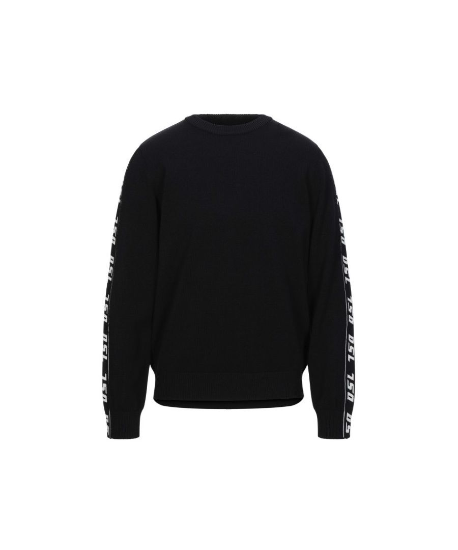 Image for Diesel DSL Taping Black Sweater