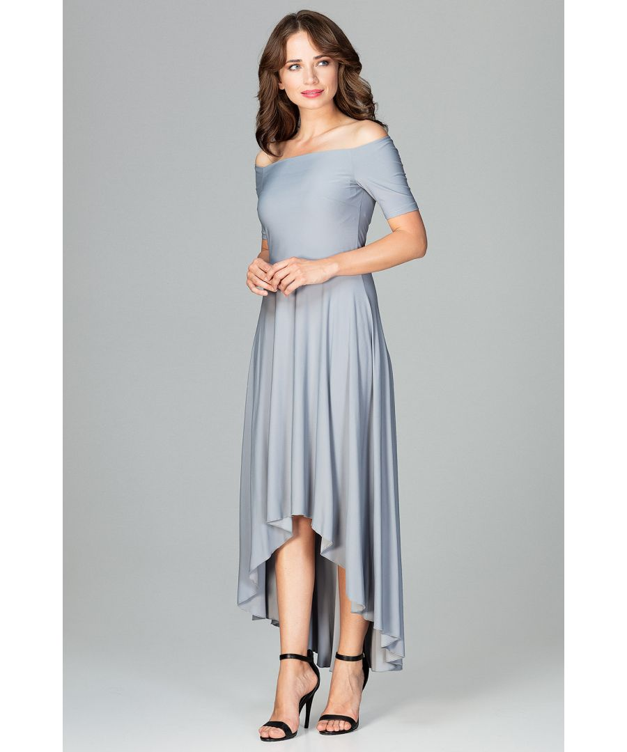 Image for Dress With Asymmetrical Bottom