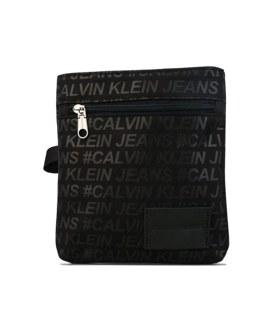 Image for Accessories Calvin Klein Sport Essential Cross Body Bag in Black