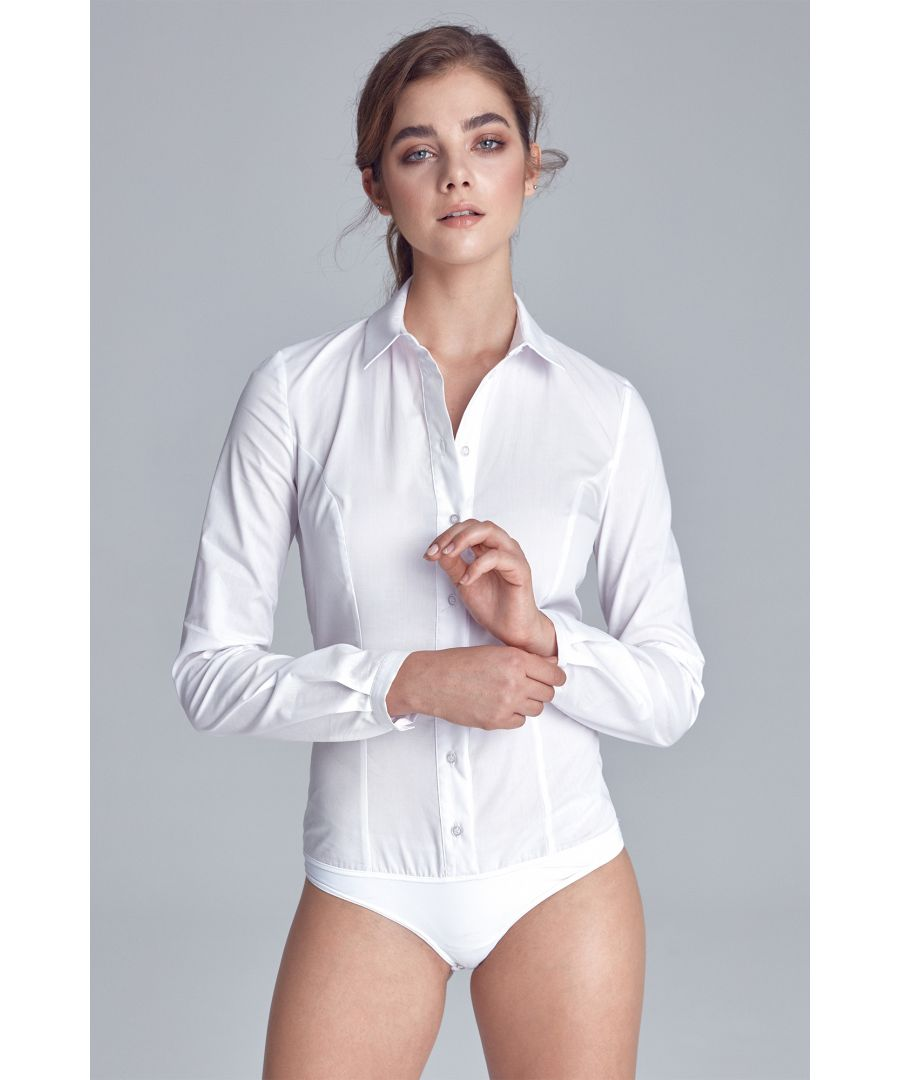 Image for Classic body shirt - white