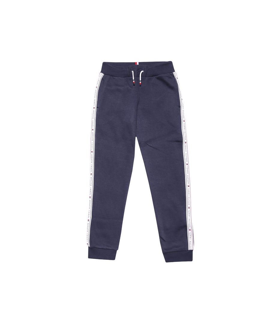 Image for Boys' Tommy Hilfiger Infant Tommy Tape Jog Pants in Navy