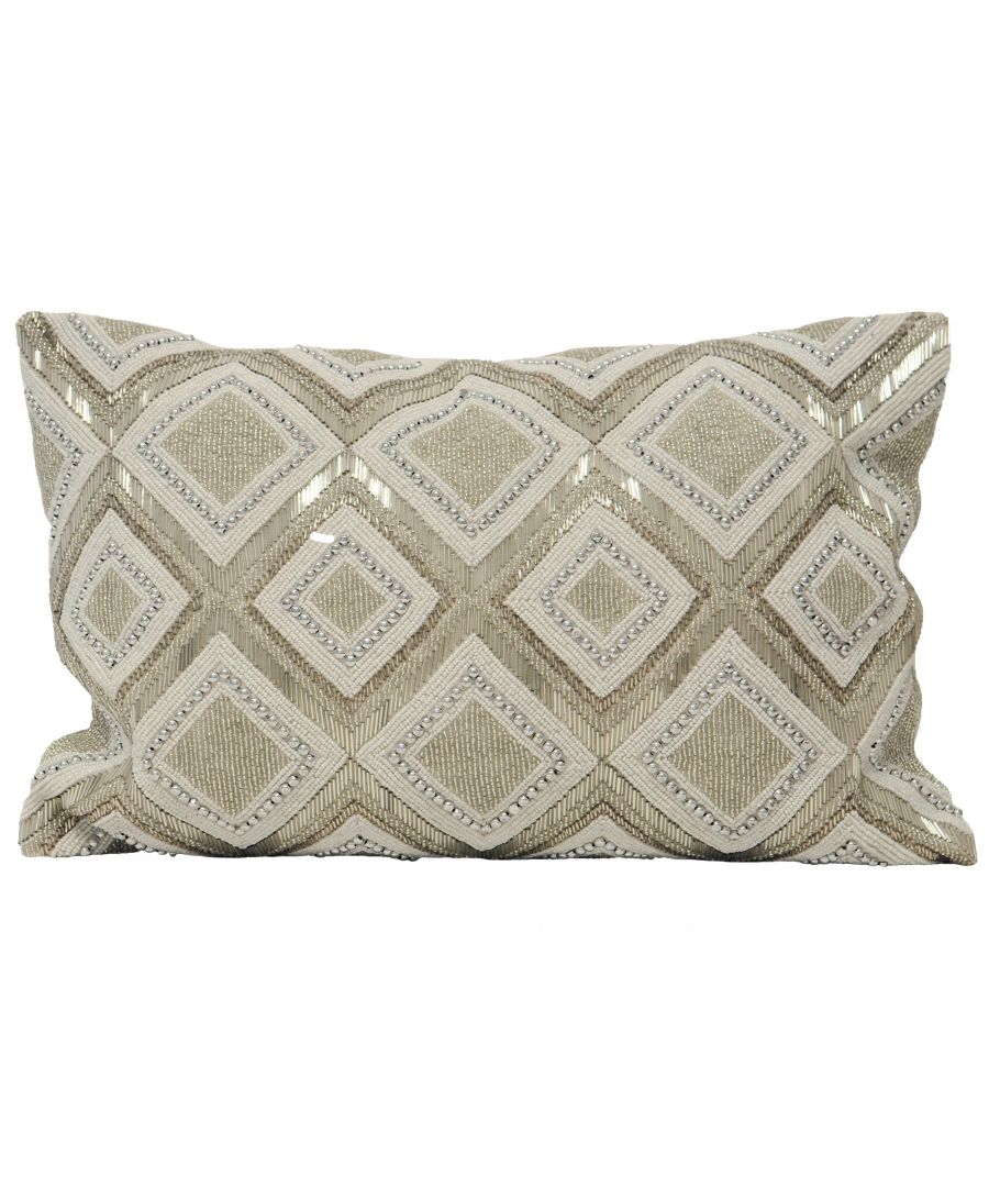 Image for Kenitra Poly Cushion 35X50 Silver
