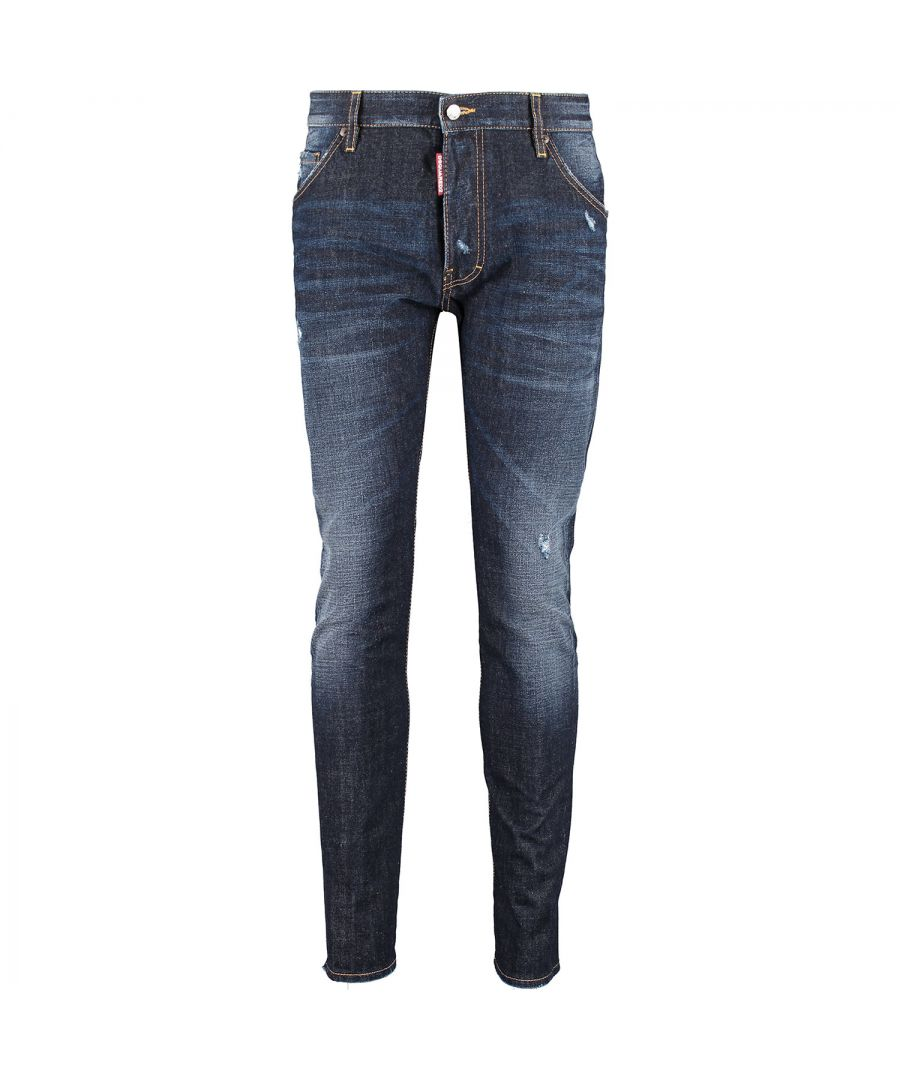 Image for DSquared2 Classic Kenny Twist S71LA0940 S30214 470 Jeans