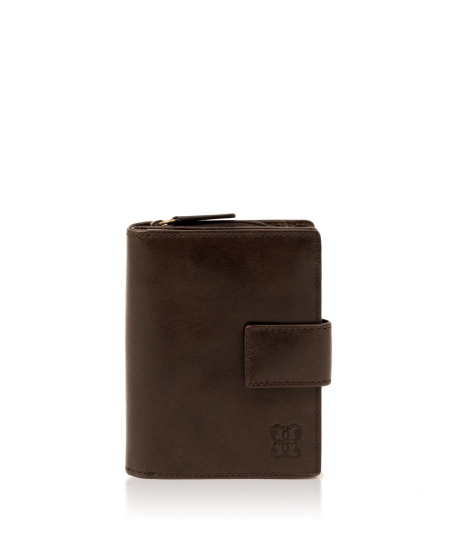 Image for Kentmere 12cm Purse in Chocolate Brown