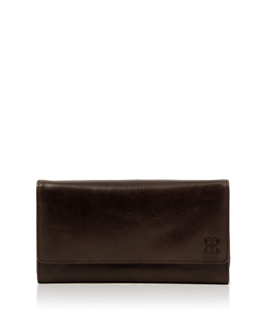 Image for Kentmere 19cm Purse in Chocolate Brown