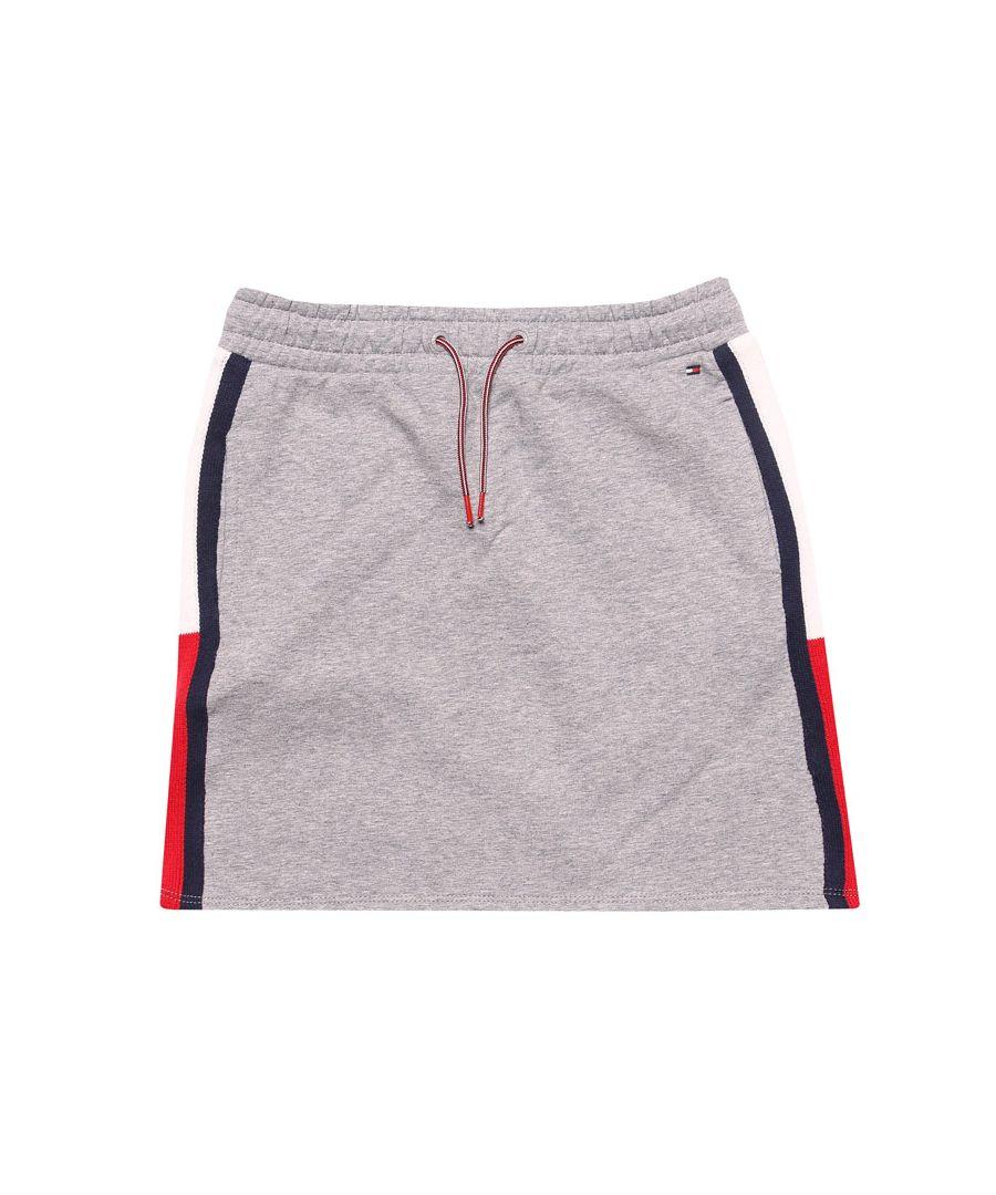 Image for Girls' Tommy Hilfiger Infant Rib Skirt in Grey