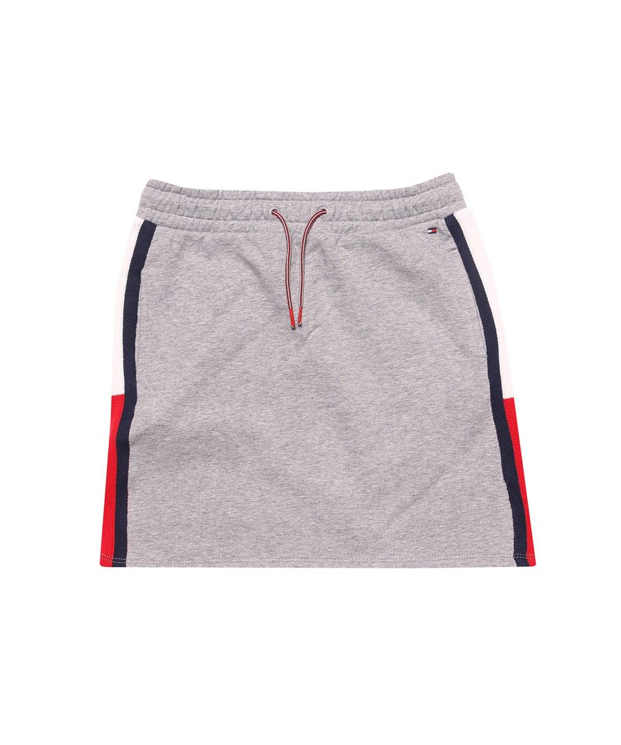 Image for Girl's Tommy Hilfiger Junior Rib Skirt in Grey