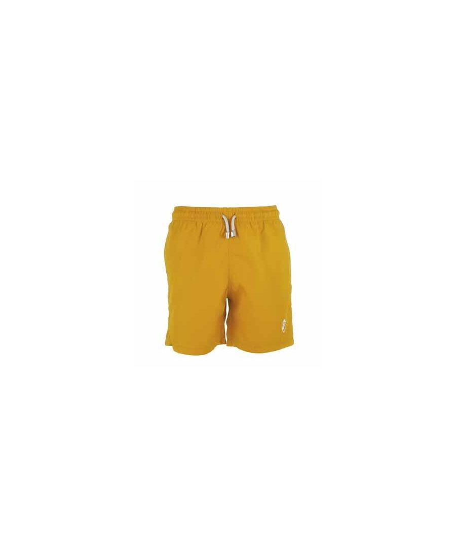 Image for Boy's Yellow Swim Shorts