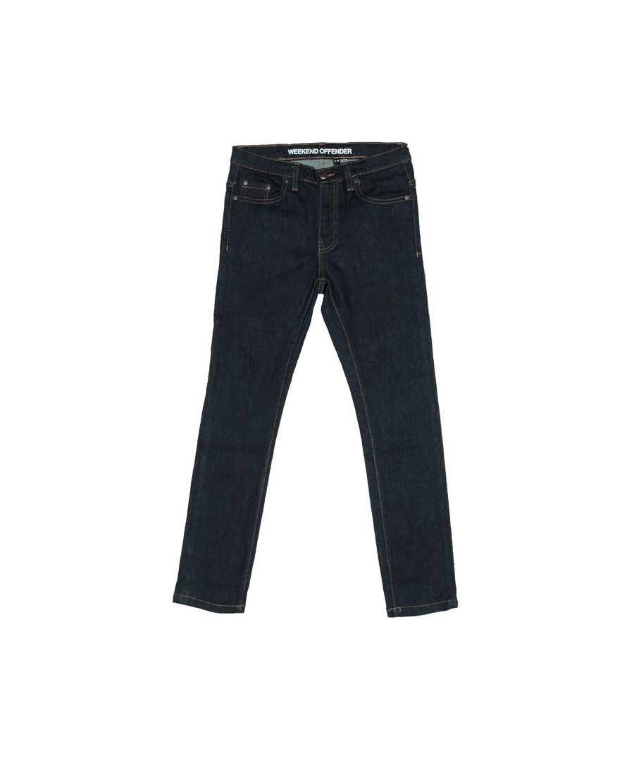 Image for Boy's Weekend Offender Junior 394 Dark Rinse Jeans in Denim
