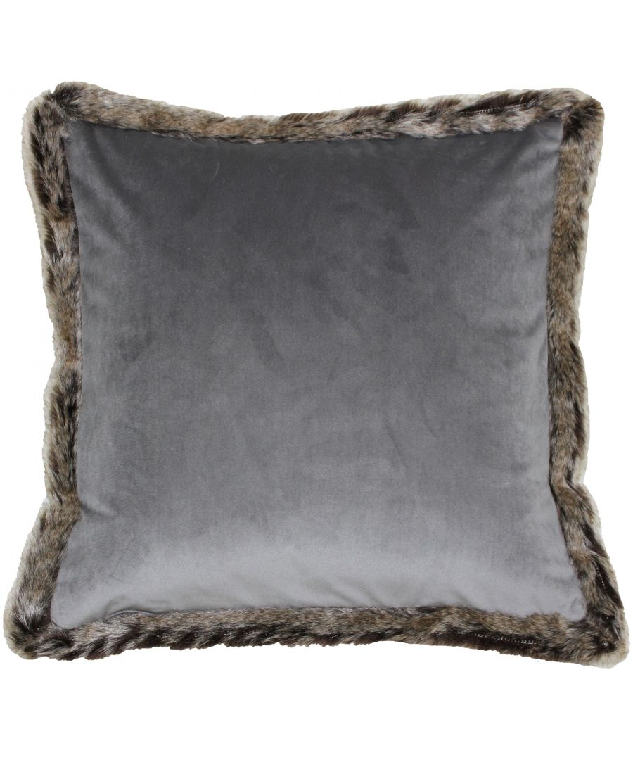 Image for Kiruna New 45X45 Poly Cushion Grey