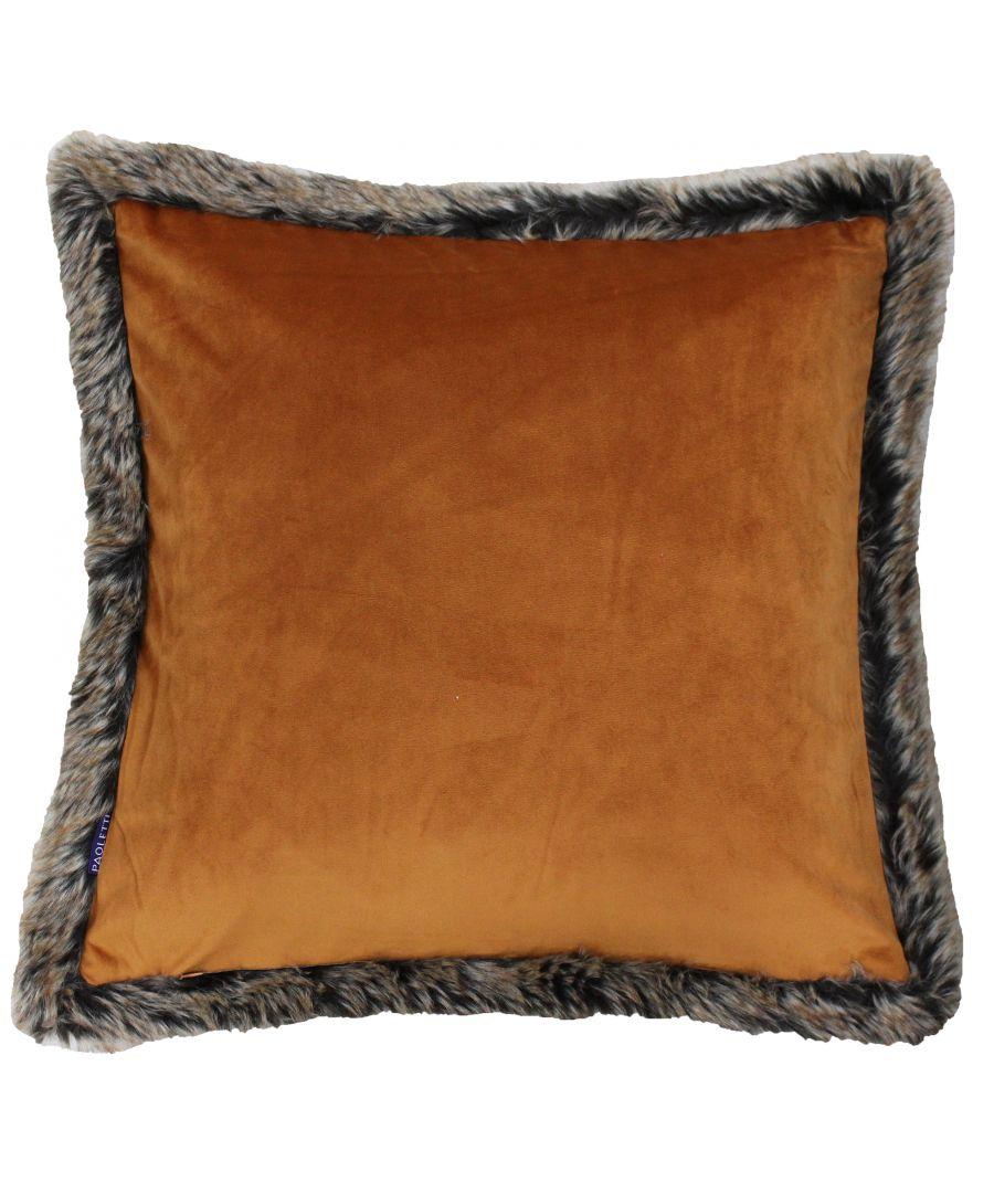 Image for Kiruna New 45X45 Poly Cushion Rust