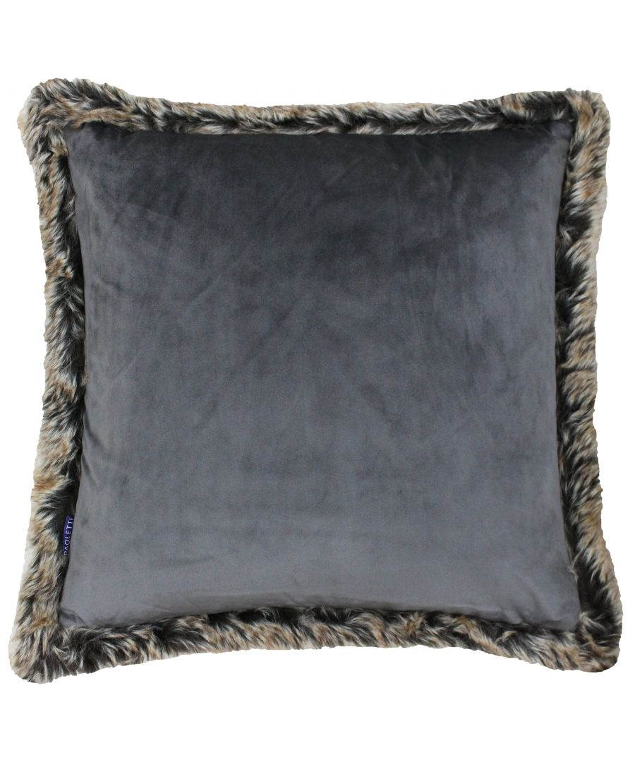 Image for Kiruna New 45X45 Poly Cushion Smoke