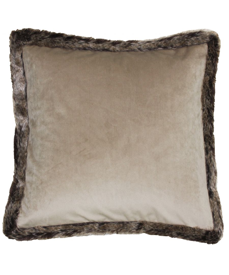 Image for Kiruna New 45X45 Poly Cushion Taupe
