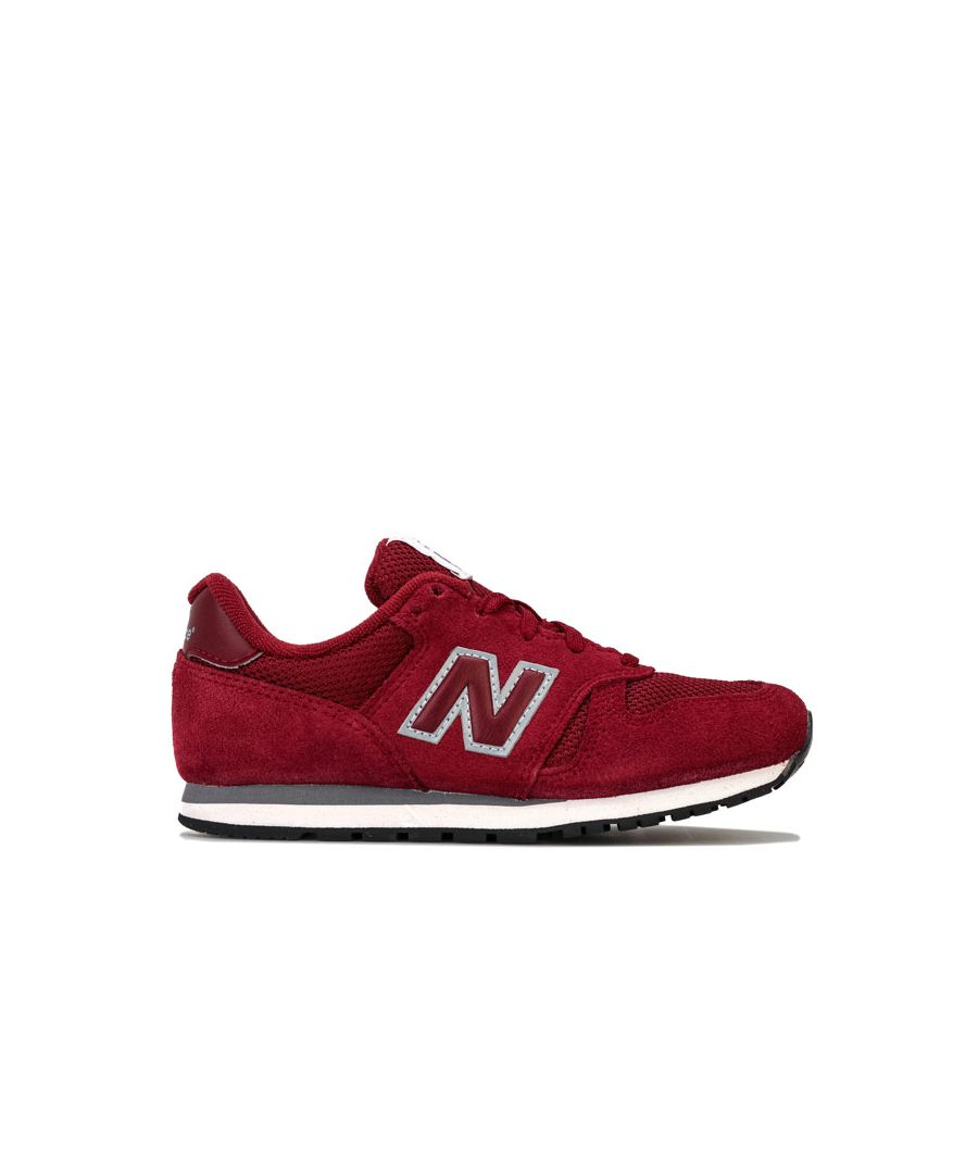 Image for Boy's New Balance Childrens 373 Trainers in Burgundy