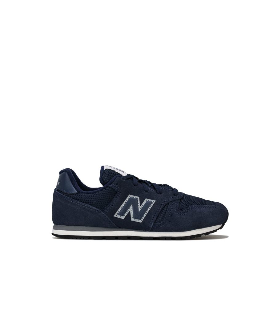 Image for Boy's New Balance Children 373 Trainers in Navy