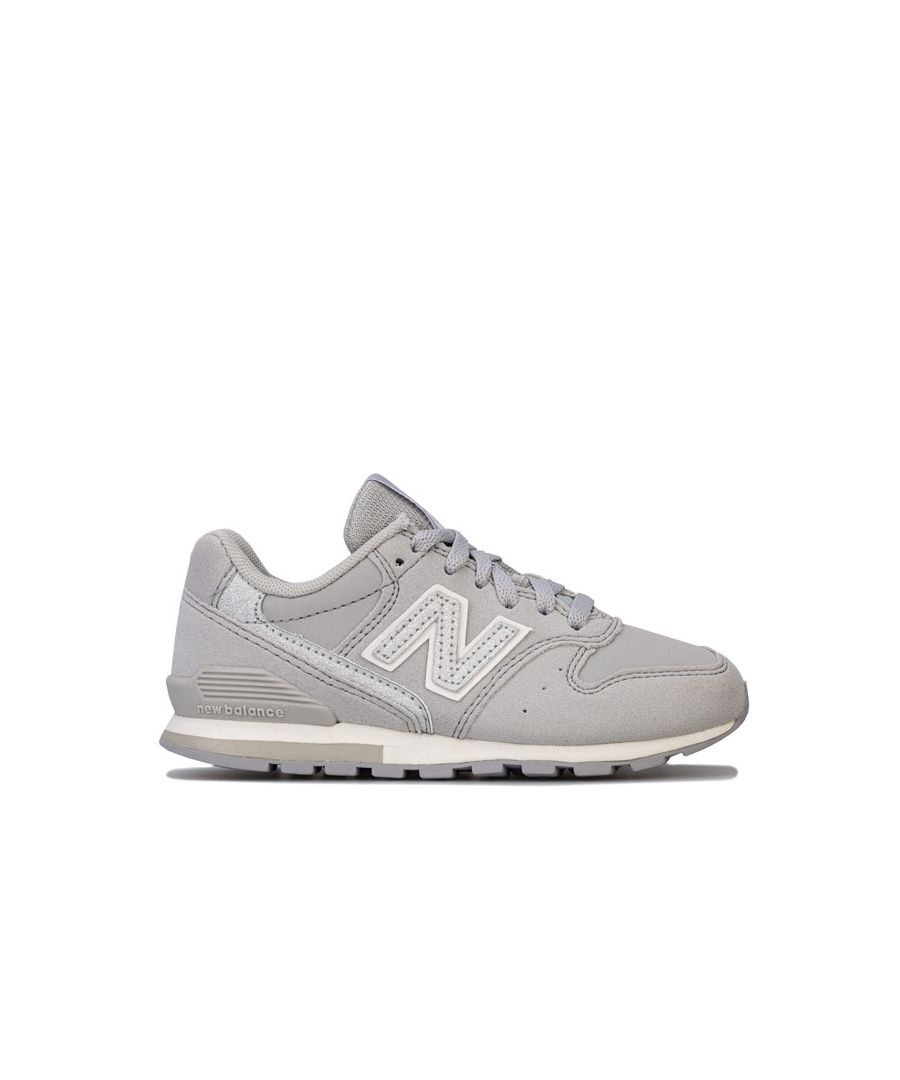 Image for Girl's New Balance Children 996 Trainers in Beige