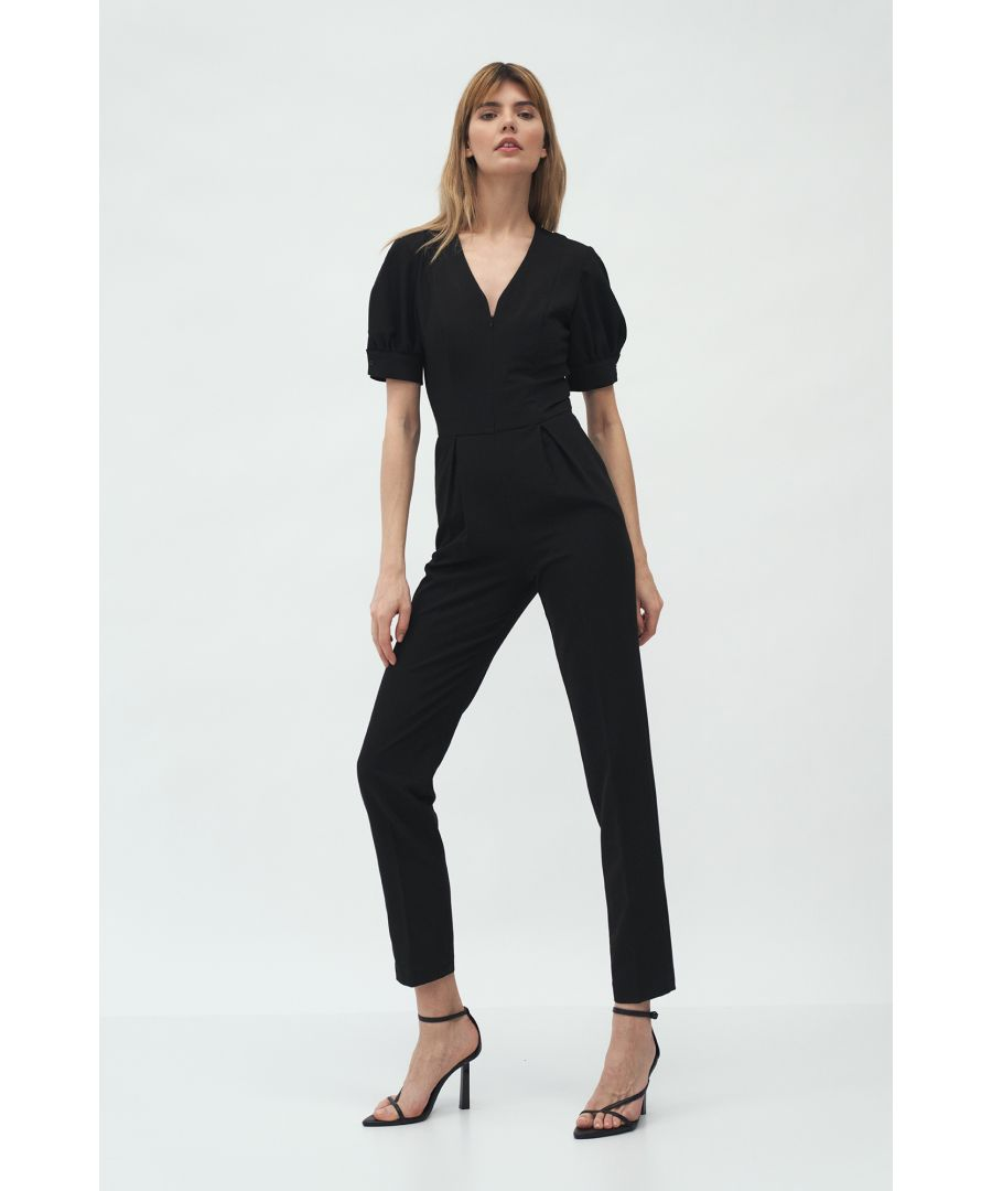 Image for Classic Jumpsuit With Zip At Front