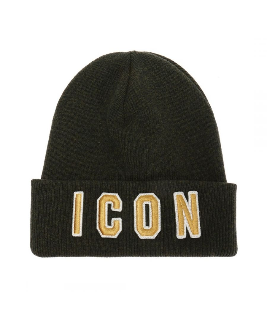 Image for Dsquared2 ICON Beanie Green Hat