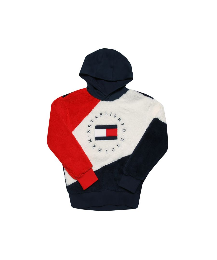 Image for Boy's Tommy Hilfiger Infant Teddy Hoody in Navy