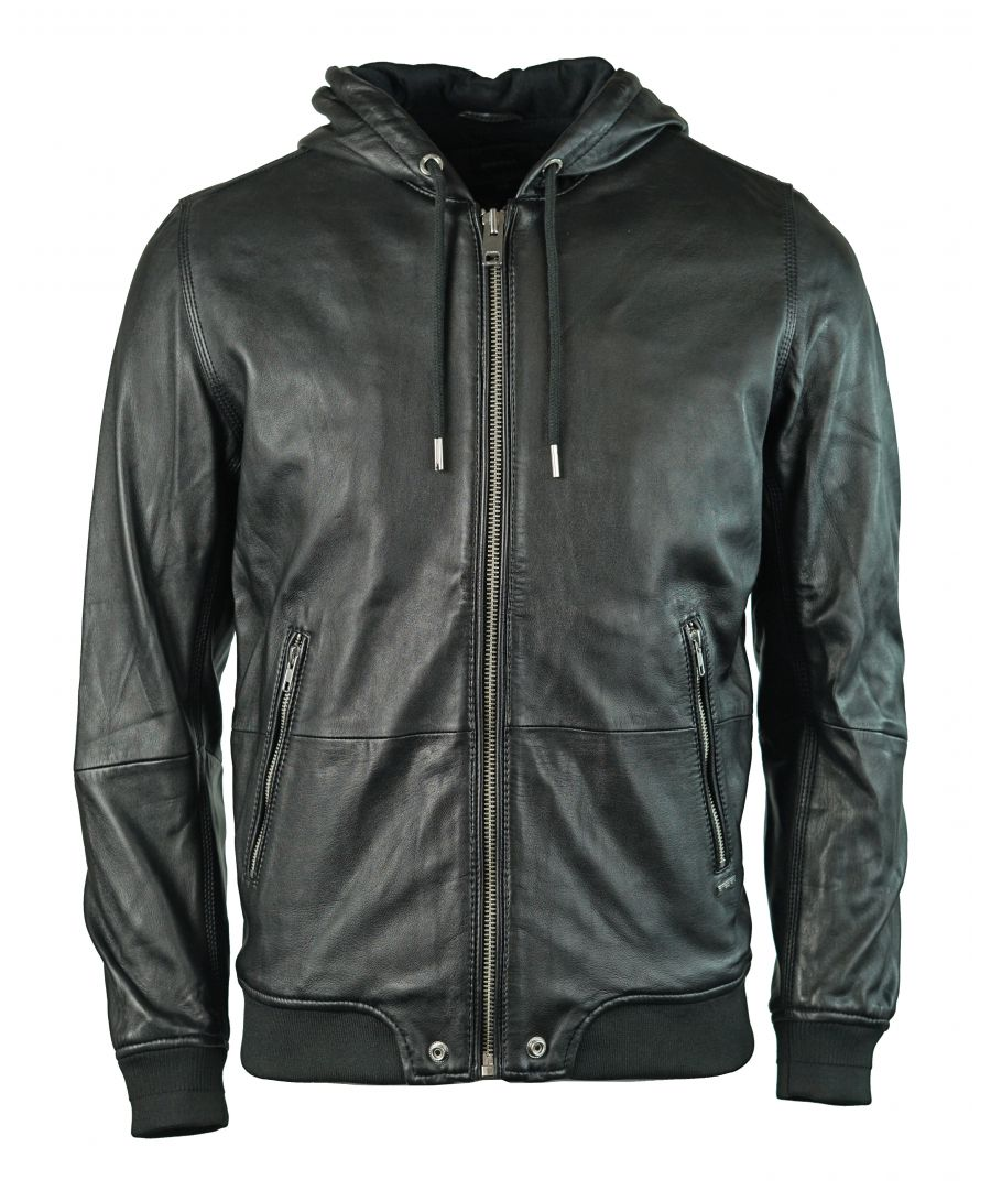 Image for Diesel L-Akura 900 Leather Jacket