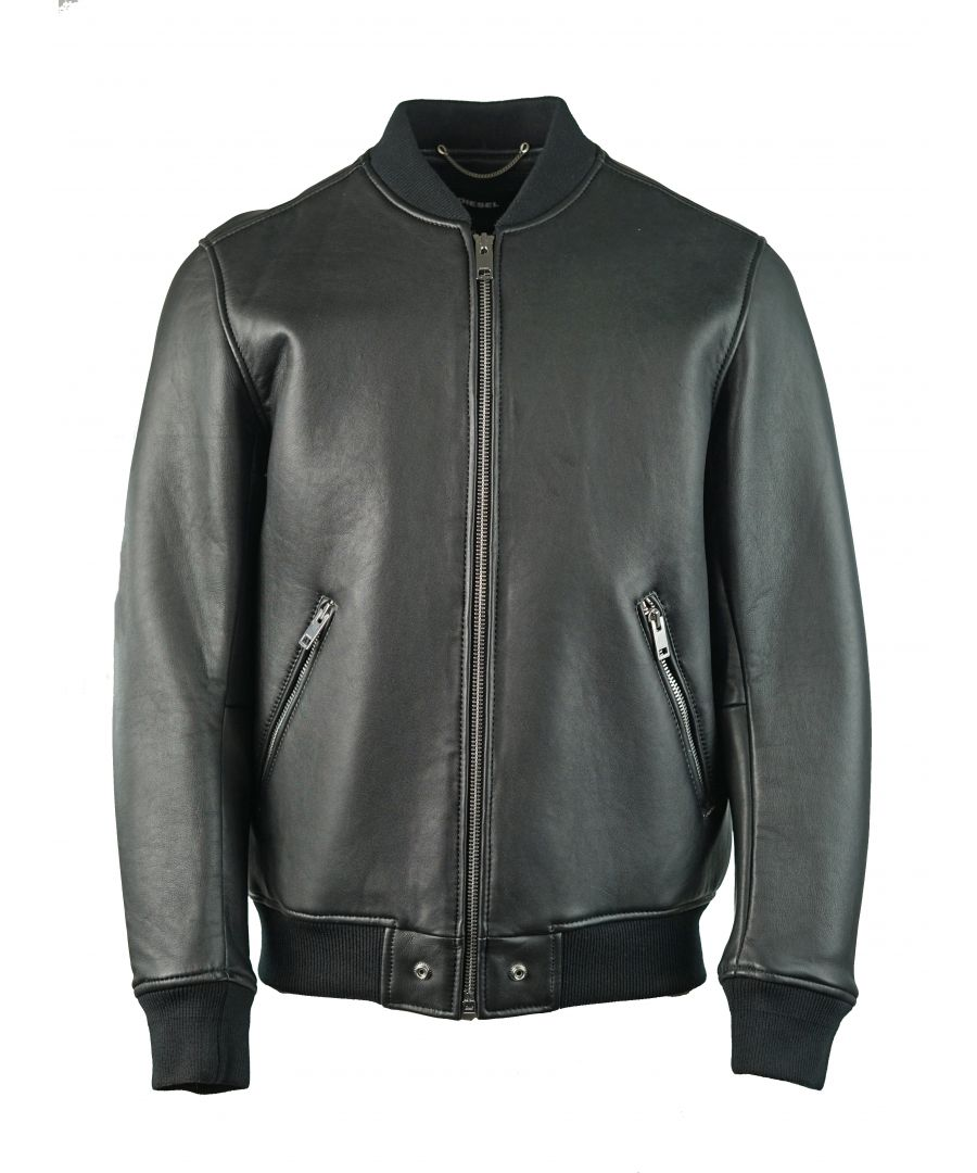 Image for Diesel L-Bluff 900 Leather Jacket