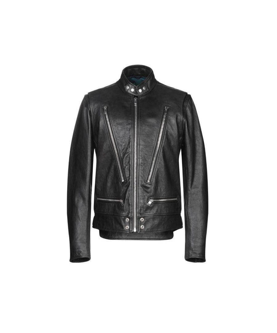 Image for Diesel L-Koji Biker Leather Jacket