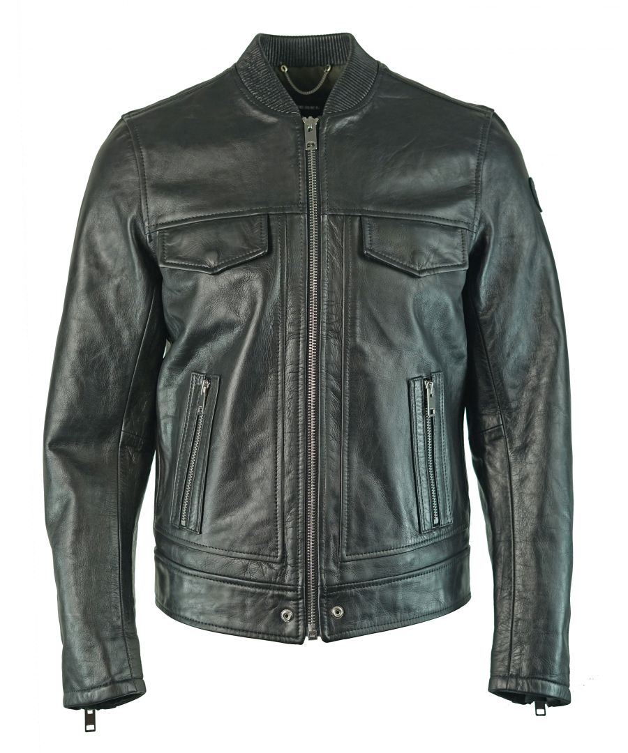 Image for Diesel L-Landing 900 Leather Jacket